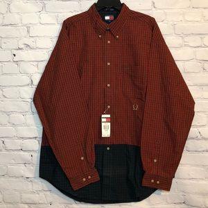 NWT Vintage Tommy Hilfiger XL Button Up Shirt